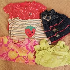 Carter's Shirts & Tops - Bundle of 5 cute different pieces size 24 months
